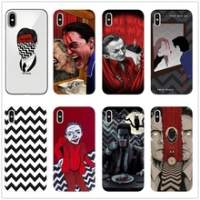 цена на Silicone Cover Phone Case For Iphone 6 X 8 7 6s 5 5s SE Plus 10 Case Twin Peaks Fire Walk With Me