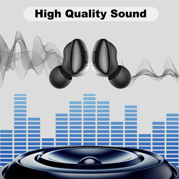 ALWUP i9 TWS Bluetooth 5.0 Earphone Wireless Headphones for phone True Wireless Stereo Mini Earbuds sports With Mic Charging box 1