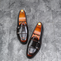 Yomior 2018 Men Casual Leather   Shoes   Fashion British Flats Comfortable Male Business Dress   Shoes     Formal   Wedding Party Oxfords