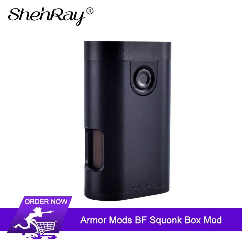 ShenRay armure Mods couleur noire 510 fil 8 ml chargeur inférieur BF Squonk boîte Mod pour Cigarette électronique RDA RDTA réservoir