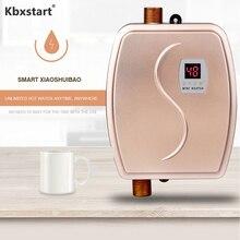 Бытовой Электрический Проточный Бойлер Для дюшэ водонагреватель настенный Chaudiere Электрический термостат