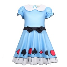 2019 summer cartoon Baby girl clothes kids dresses for Girls Halloween costume cosplay Party Vestidos 51204 hot mickey minnie cosplay costume halloween costume dresses for kids girl performance dance clothes christmas cartoon costume