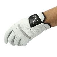 Luvas de Golfe Pura Pele de Carneiro luvas de Golfe masculino mão esquerda soft respirável luvas de Golfe esportes Ao ar Livre