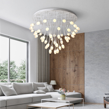Postmodern oliveball manyheads LED ceiling lamp living room lights Novelty illumination bedroom fixtures home lighting