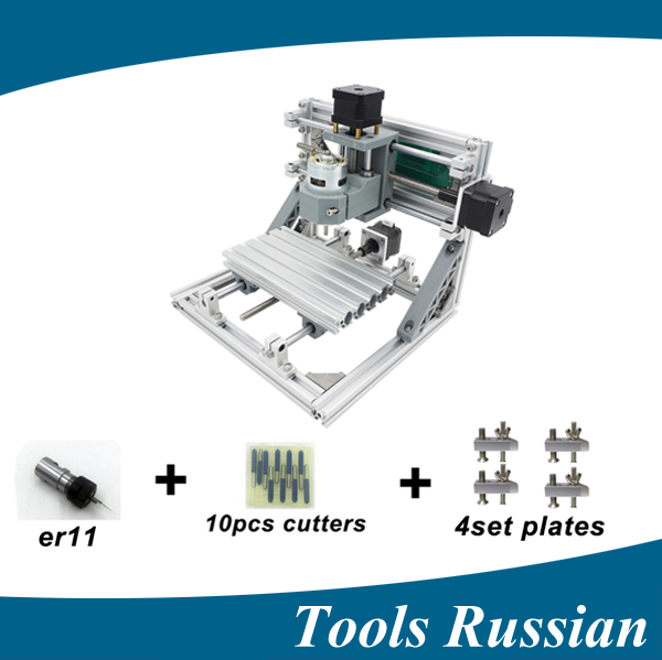Only Russia !CNC1610 ER11,mini cnc laser engraving machine,Pcb Milling Machine,Wood Carving machine,cnc router,cnc 1610,toy gift