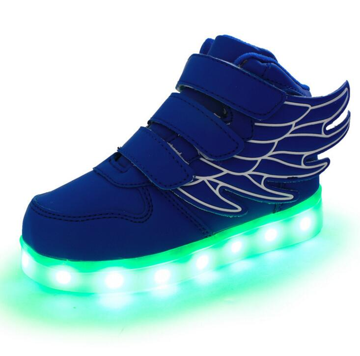 STRONGSHEN-Summer-Children-Breathable-Sneakers-With-Light-Sport-Led-USB-Luminous-Lighted-Shoes-for-Kids-Boys-Casual-Girls-Flats-3
