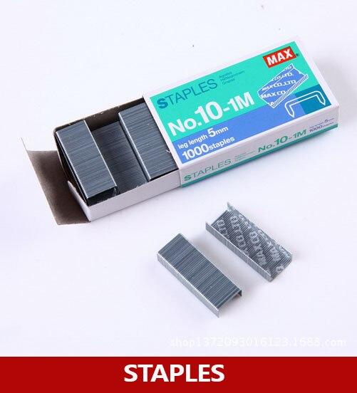 Paquetes de 50 Grapas de cable redondas marrones de 14 mm con clavos de fijaci/ón