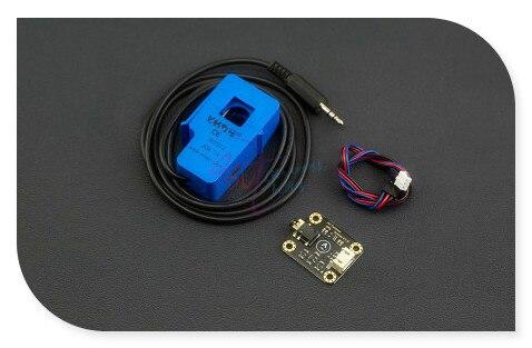 DFRobot Тяжести серии Аналоговый ПЕРЕМЕННОГО ТОКА Датчик, диапазон 0 ~ 20A включают зонд + модуль адаптера + 3-контактный интерфейс кабель для arduino
