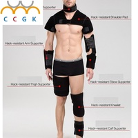 Anti Stab Protective Gear Protective Neck Shoulder Elbow Pads Thigh Knee Calf Self Defense Anti Cut