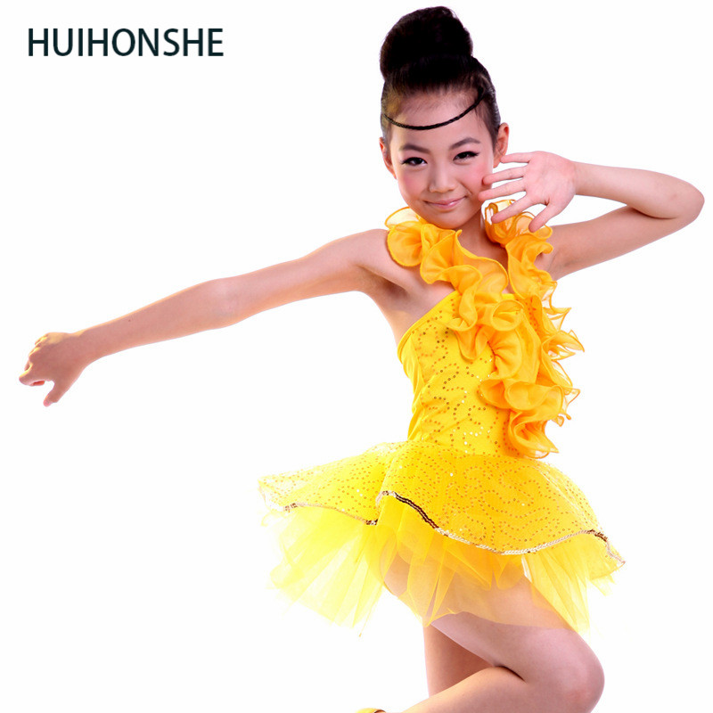 Latin dance clothes children's clothing costumes Latin dance group dance costumes dance costumes children's clothing wholesale