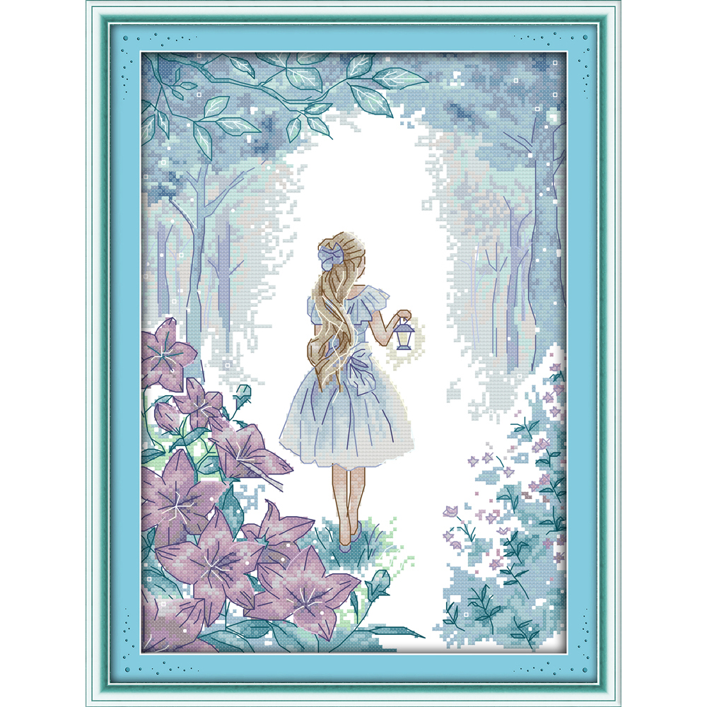 Joy Sunday To explore the miracle Chinese cross stitch kits Ecological cotton clear stamped 11CT DIY wedding decoration for home