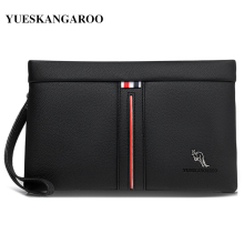 Luxury Brand Men Wallets Casual Business Men Clutch Bag High Quality Zipper Envelope Long Wallet Slim Handbag Leather Male Purse p kuone genuine leather clutch bag 2018 fashion high quality top men wallets luxury brand purse messenger handbag long wallet