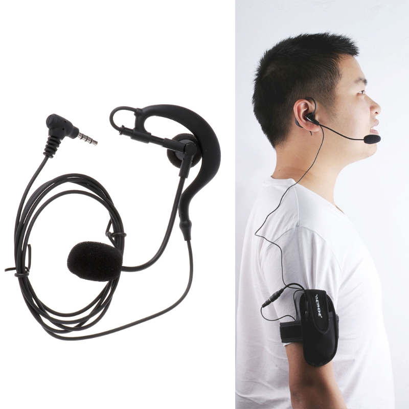 Referee Earphone Hook Bluetooth V4/V6/FBIM Interphone Sports Armband Interphone trendy sports armband for iphone 5 black