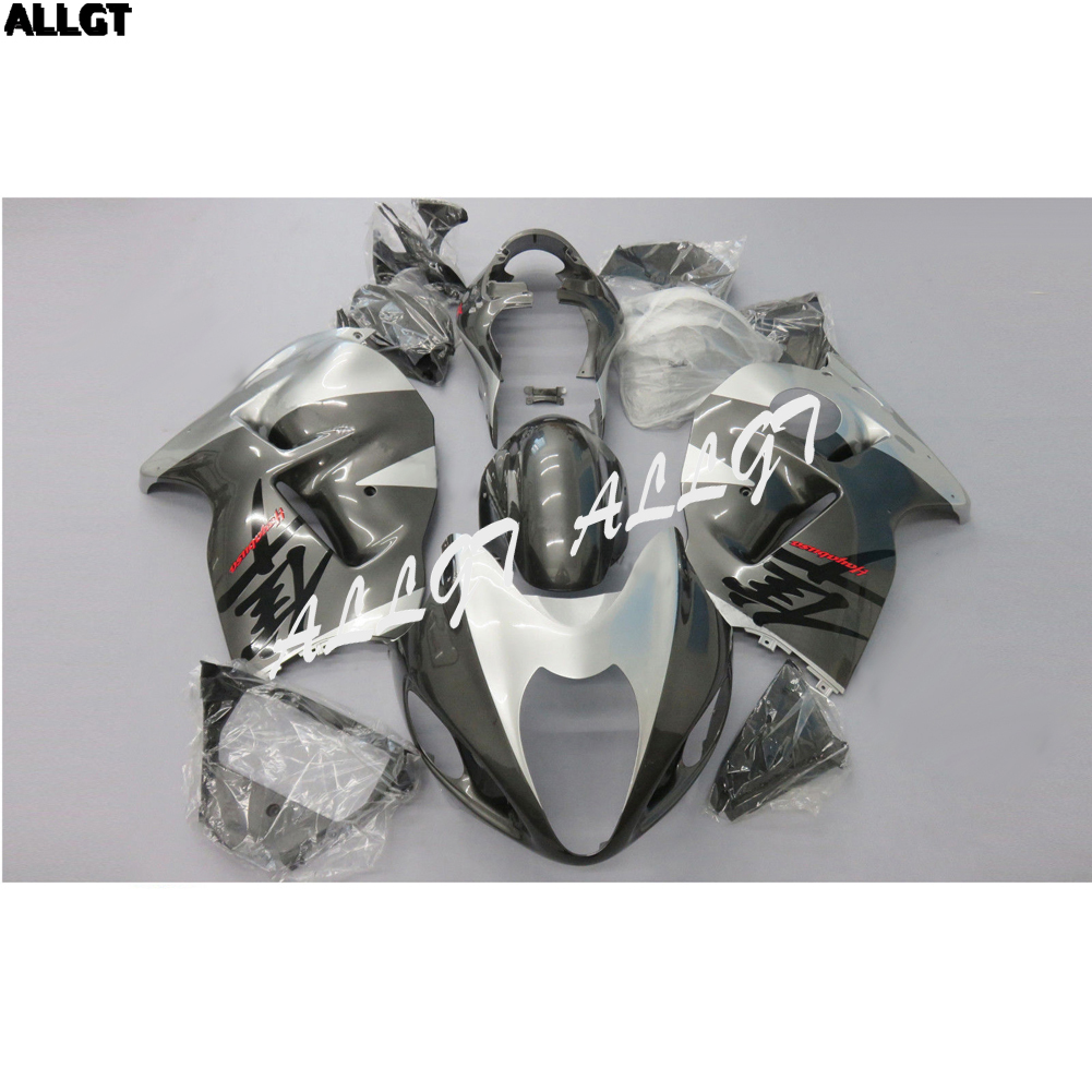ABS Silver Grey Fairing kit Bodywork for SUZUKI Hayabusa GSX1300R 1999 2000 2001 2002 2003 2004 2005 2006 2007 NEW