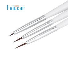 HAICAR Set of 3 Professional Sable Nail Art Drawing Painting Pen Brush Detailer Liner Striper Tools 160913 Drop Shipping