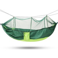 SGODDE Portable Outdoor Travel Camping Tent Folding Hammock Bed Mosquito Net Nylon 210T Fabric For Travel