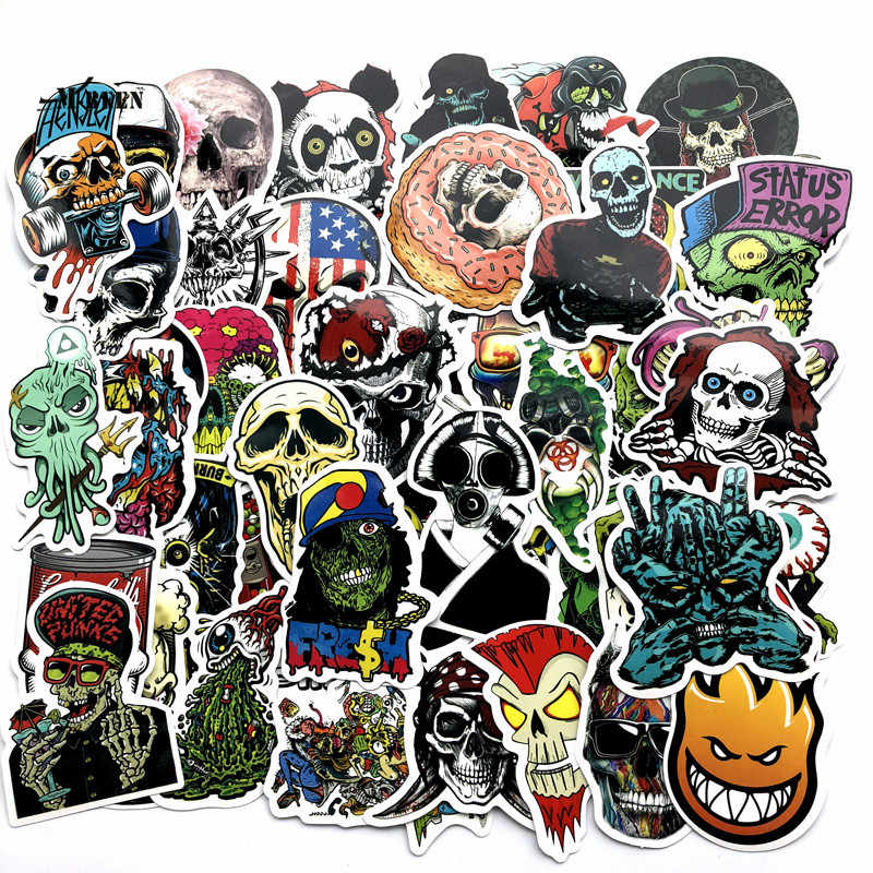 Detail Feedback Questions about 50 Pcs Mixed Horror Stickers