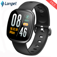 Купить с кэшбэком 3.28 New Longet GT103 Smart Watch Wristband Bracelet Heart Rate Waterproof IP67 Fitness Tracker Smart Band for xiaomi iPhone7