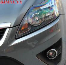 BJMYCYY free shipping!The headlights light strip for ford focus mk2 2.5 2006-2011