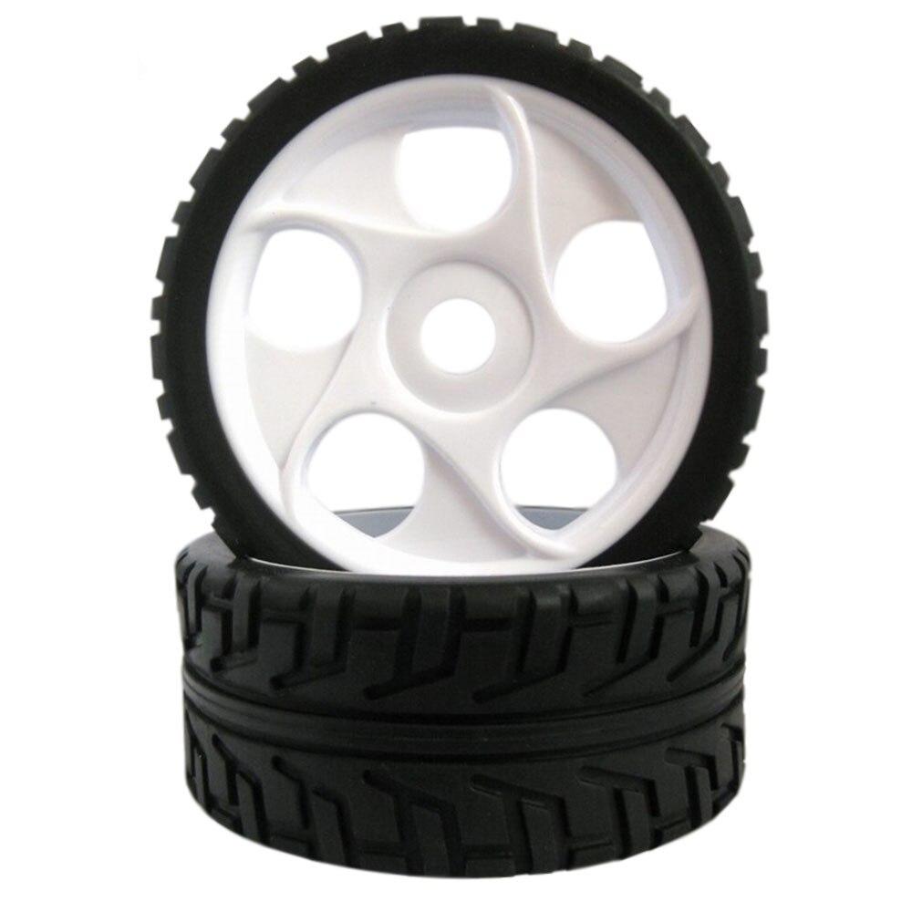 где купить 4PCS Rc Wheels Hub Hex 17mm Rim&Tires 100mm Diameter HSP 1/8 Off Road Buggy RC Car Parts по лучшей цене