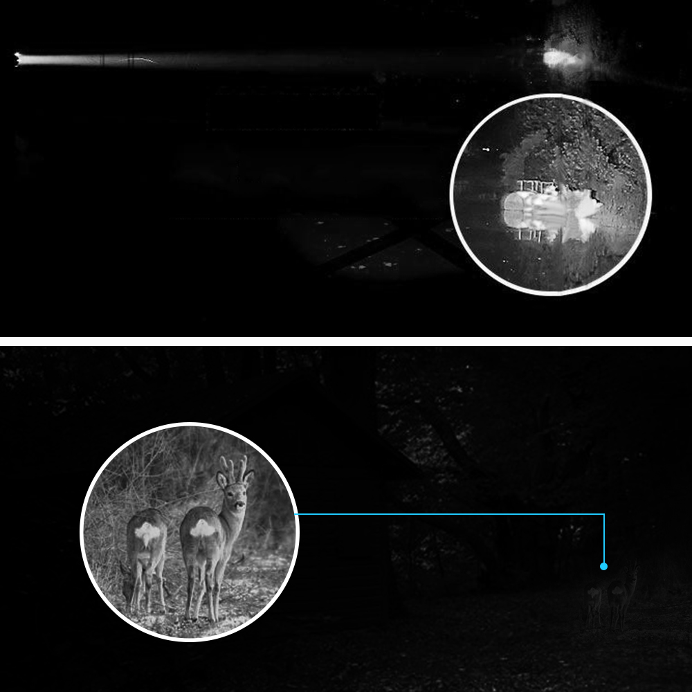 Image 5 - BOBLOV 5X40 Digital Infrared Night Vision Goggle Monocular 200m Range Video DVR Imagers for Hunting Camera Device-in Night Visions from Sports & Entertainment