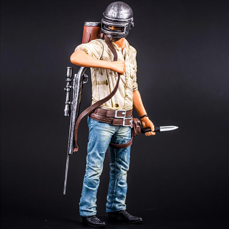Anime figure Player Unknown s Battle Grounds PUBG Model Doll PVC nendoroid 26cm Game Figurine Action Figure oyuncak форма для нарезки арбуза