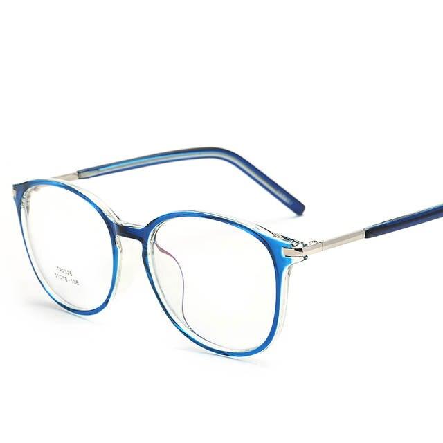 96489b47bf placeholder TR90 Oversized Round Eyeglasses Frames Clear Lens Fake Optical  Glasses Tortoise-shell Eyewear Spectacle Frames