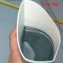 Унисекс одноразовые 600CC портативные сумки мочи для путешествий на открытом воздухе аварийный мини-туалет для детей и взрослых 40 шт = 10 мешков