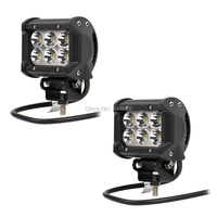 2PCS 18W LED 1260LM Spot Led Off Road Driving Lights Car Styling Led Fog Lights Lighting