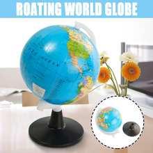 8,5 см Мини глобус мир Земля Карта океана пластиковая Сфера география Обучающие образовательные игрушки украшение дома детские подарки
