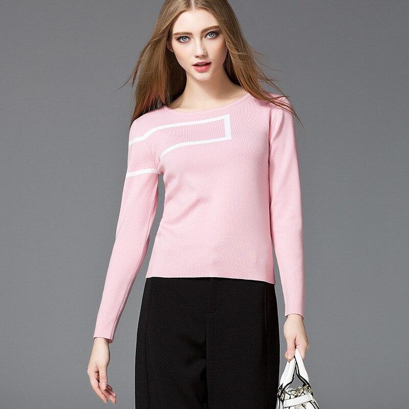 2017 primavera nuevas mujeres modal algodón autocultivo cabeza suéter de Europa