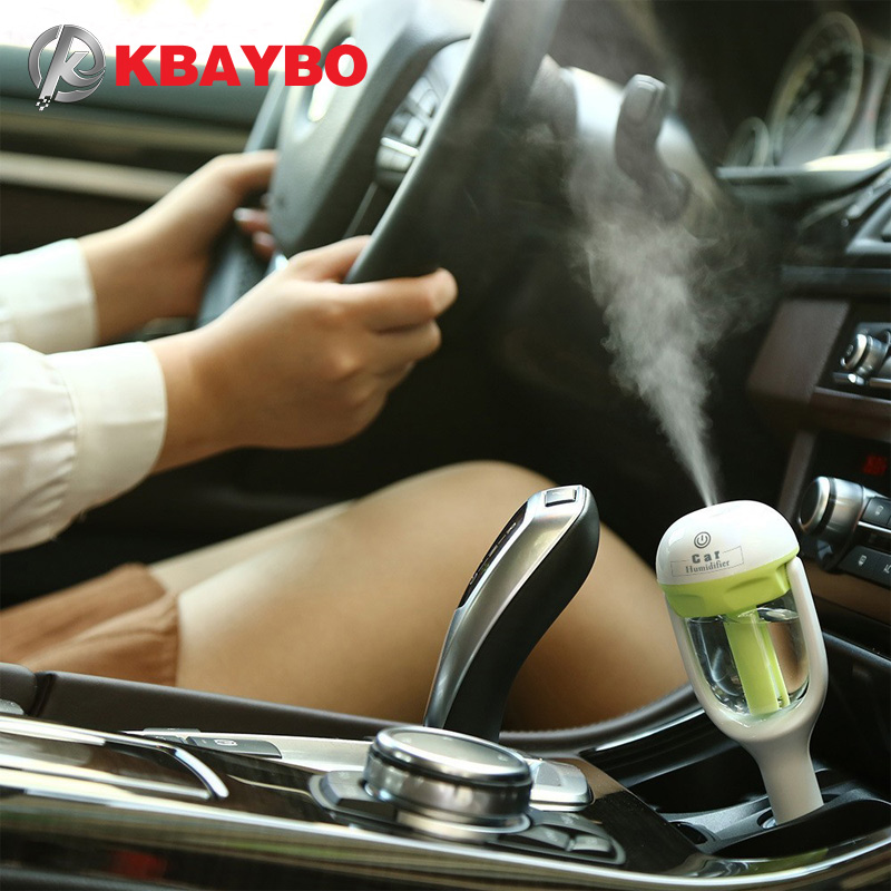 Auto Aroma Diffusore Umidificatore-Portatile Mini Car Aromaterapia Umidificatore Diffusore Purificatore di olio essenziale diffusore