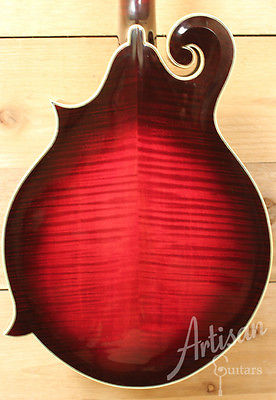 2003 Dearstone D 5mc F Style Mandolin Redwood And Figured Maple Sku