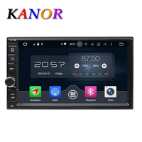 KANOR Android 6 0 1024 600 Octa Core 7inch 4 32g Double 2 Din Car GPS