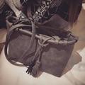 2016 spring and summer woman handbag fashion women leather grey shoulder bag  girls big capacity vintage crossbody messenger bag