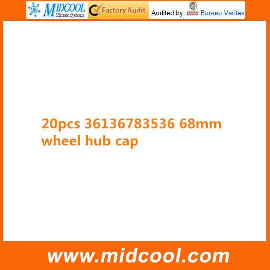 FREE SHIPPING 20 PCS <font><b>36136783536</b></font> 68MM WHEEL CENTRE CAP image