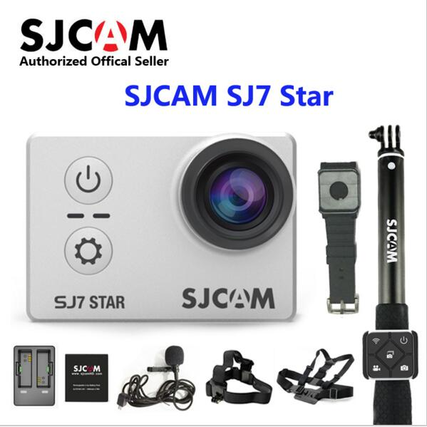 sjcam sj5000 plus ambarella a7ls75 sport camera SJCAM SJ7 Star wifi Ambarella A12S75 4K 24fps Ultra HD Waterproof Action Camera 2.0 Touch Screen Remote Sports DV Original SJ 7