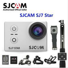 "SJCAM SJ7 Star wifi Ambarella A12S75 4K 24fps Ultra HD Waterproof Action Camera 2.0"" Touch Screen Remote Sports DV Original SJ 7"