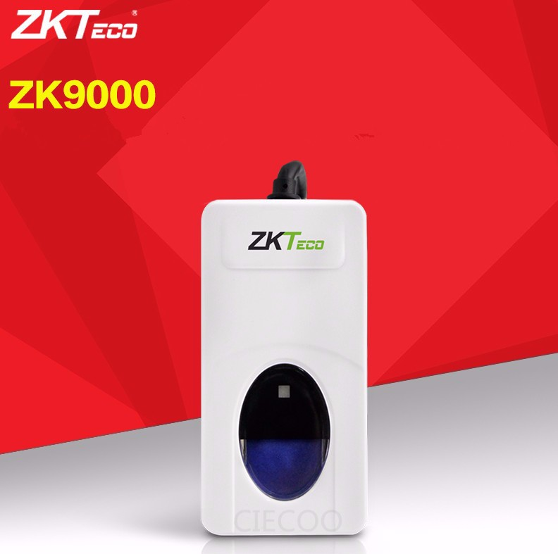 US $98 0  Brand New ZKT ZK9000 USB Fingerprint Reader Scanner Sensor for  Computer PC Home Office Supplies , With Retail Box Free Shipping-in