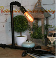 Iron industrial pipes lamp bedroom lamp creative bar, material iron,E27, AC110-240V