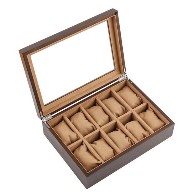 Ten Slots Watch Wooden Cases