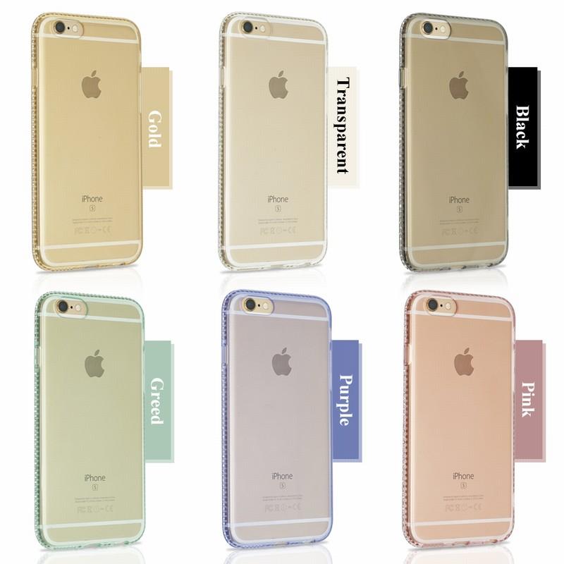 For Coque iPhone Paillettes For iPhone 6 Cases 7plus 5 S 5S SE housse telephone Luxury transparent etui Mobile Phone Accessories (40)