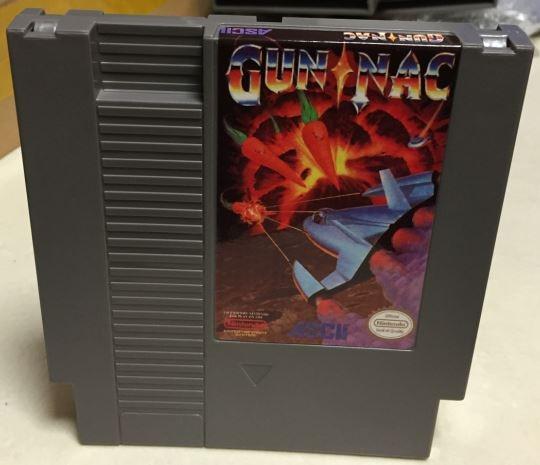 Gun Nac Game card 72pin 8 bit Game cartridge Drop shipping!