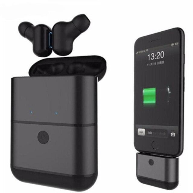 X2 TWS Bluetooth 5,0 Headphone auricular inalámbrico de manos libres auriculares Audifono auriculares con micrófono portátil cargador portátil para teléfono
