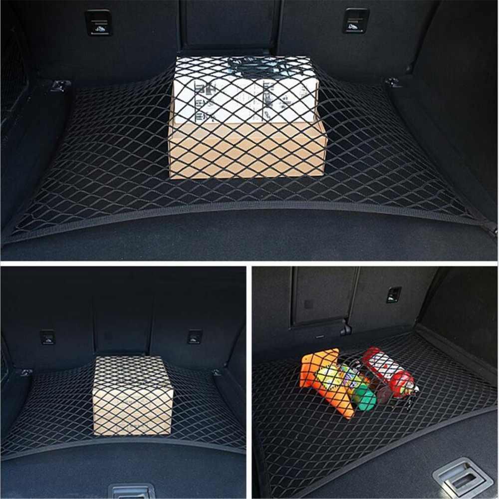 4 крючка автомобильный универсальный багажник Грузовой сетчатый органайзер для хранения Авто аксессуары для Volkswagen VW polo passat b5 b6 CC golf jetta