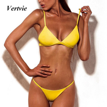 Strapless Brazilian Bikini Push Up Bikini Set