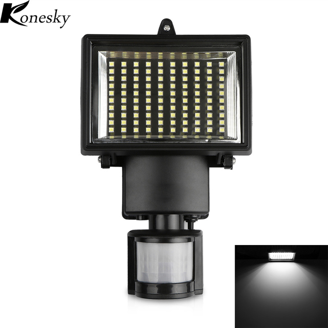 50 w 100 LED Moderne Lampe Solaire De Jardin avec Détecteur de ...