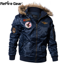 ReFire Gear Military Bomber Jacket for Men