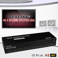 VOXLINK 1X16 HDMI Splitter Full HD 1080P 1 In 16 Out HDMI Amplifier Splitter HDMI 1