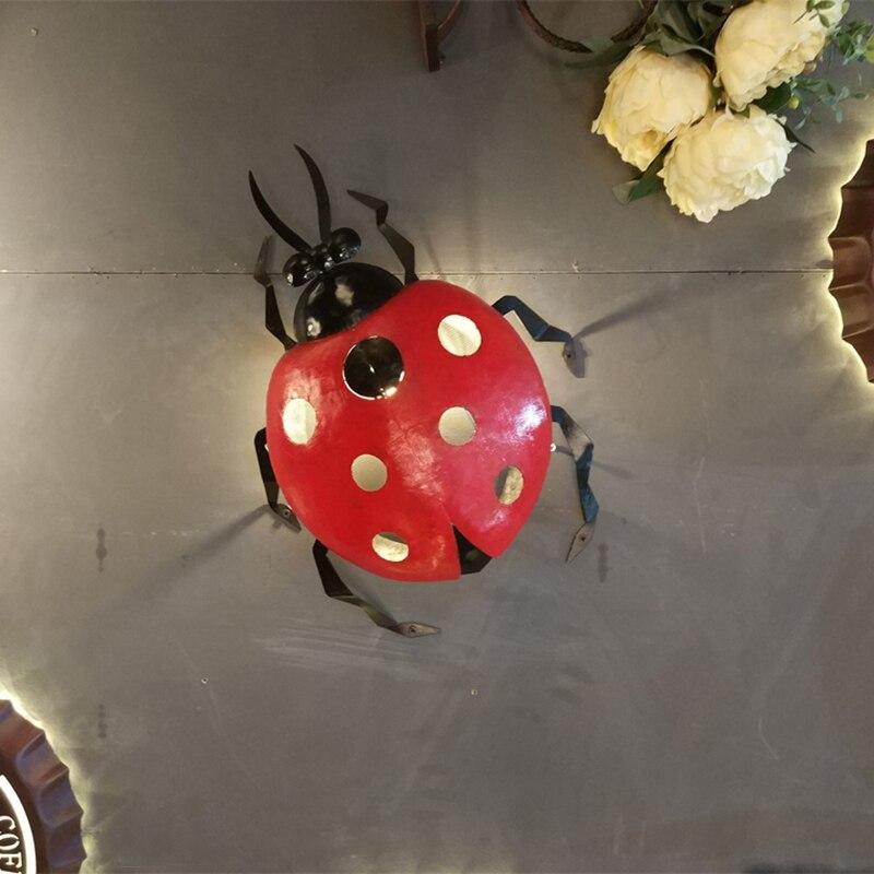 Wall Light Bettle Design Black & Red Iron Art LED G9 Socket Sconce Light Hallway Bar Coffee Shop Indoor lighting Free LED Bulb mp3 плеер sony nw a35 black